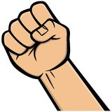 Fist Icon Stock Images