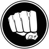 Fist Insignia Royalty Free Stock Photo