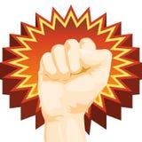 Fist Power Stock Image