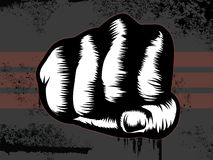 Fist Punch royalty free illustration