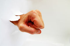 Fist punch Royalty Free Stock Images