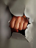 fist punch Στοκ Εικόνες