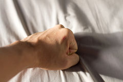 Fist punch Royalty Free Stock Photo