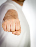 Fist punch Royalty Free Stock Photography