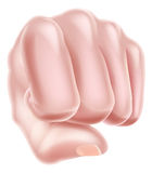 Fist Punching Royalty Free Stock Image