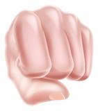 Fist Punching Royalty Free Stock Image