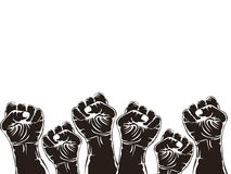 Fist for revolution Royalty Free Stock Image