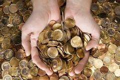 A Fistful of Money Royalty Free Stock Photos