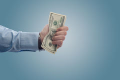 A fistfull of dollars Royalty Free Stock Images