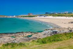 Fistral Beach Newquay Cornwall England Stock Photography