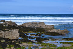 Fistral beach in Newquay Cornwall England Stock Image