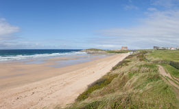Fistral Beach, Newquay in Cornwall Stock Photo