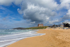 Fistral beach Newquay North Cornwall England UK Stock Image