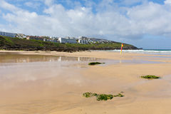 Fistral beach Newquay North Cornwall UK Stock Photos