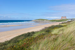 Fistral Beach, Newquay Royalty Free Stock Images
