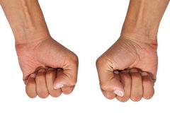 Fists Royalty Free Stock Image