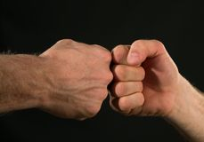 Fists Royalty Free Stock Images