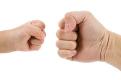 Fists Royalty Free Stock Photos
