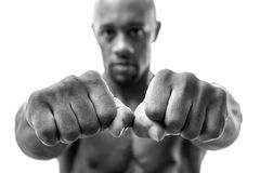 Fists and Knuckles Royalty Free Stock Photography