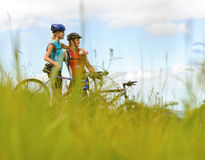 Fit active healthy lifestyle stock photography