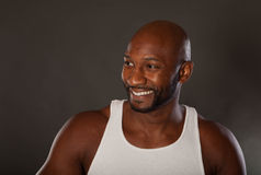 Fit African American Man Royalty Free Stock Image