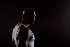 Fit African American Man Royalty Free Stock Photography