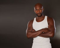Fit African American Man Stock Photo