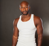 Fit African American Man Stock Image