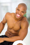 Fit african man Royalty Free Stock Image