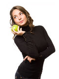 Fit apple beauty. Stock Images