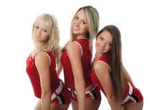 Fit cheerleader Stock Image