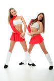 Fit cheerleader Royalty Free Stock Image