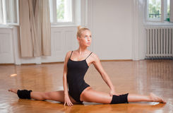 Fit dancer. Royalty Free Stock Image