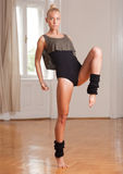 Fit dancer. Royalty Free Stock Photo