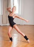 Fit dancer. Royalty Free Stock Images