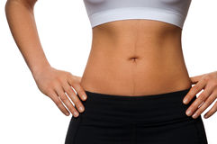 Fit Waist Royalty Free Stock Photo