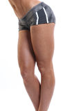 Fit female legs Stock Images