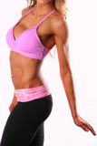 Fit female torso. Image of a fit blonde female torso Stock Photos