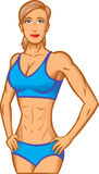 Fit girl Stock Photography