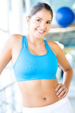 Fit gym woman Stock Photo