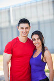 Fit healthy couple Royalty Free Stock Photos