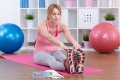 Fit and healthy life Stock Photography