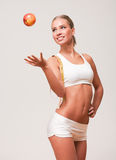 Fit and healthy. Royalty Free Stock Photography