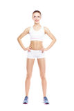 Fit, healthy and sporty woman Royalty Free Stock Image