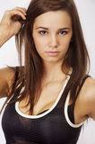 Fit and healthy young woman Royalty Free Stock Photo