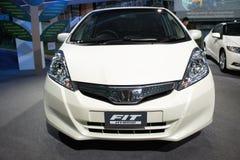 Fit Hybrid new car, BOI Fair 2011 Thailand Stock Image