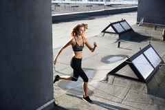 Fit & jump Stock Photo