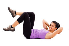 Fit Lady Trainer Stock Images