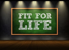 Fit for life Stock Photo