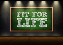 fit livstid stock illustrationer